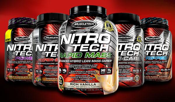 Nitro- tech a zsírégetésért
